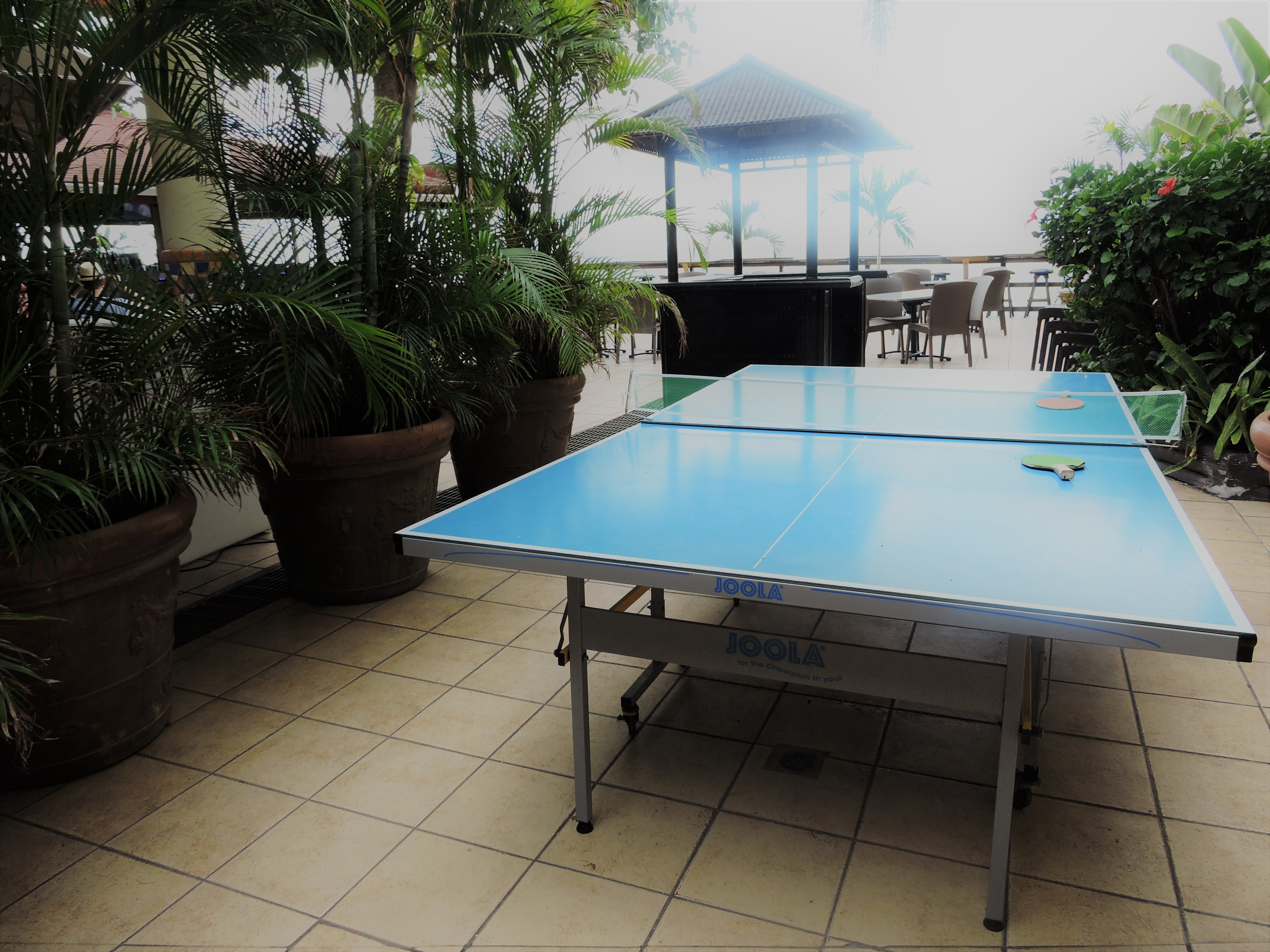 Ping Pong Table Villa Cofresi Hotel Rincon