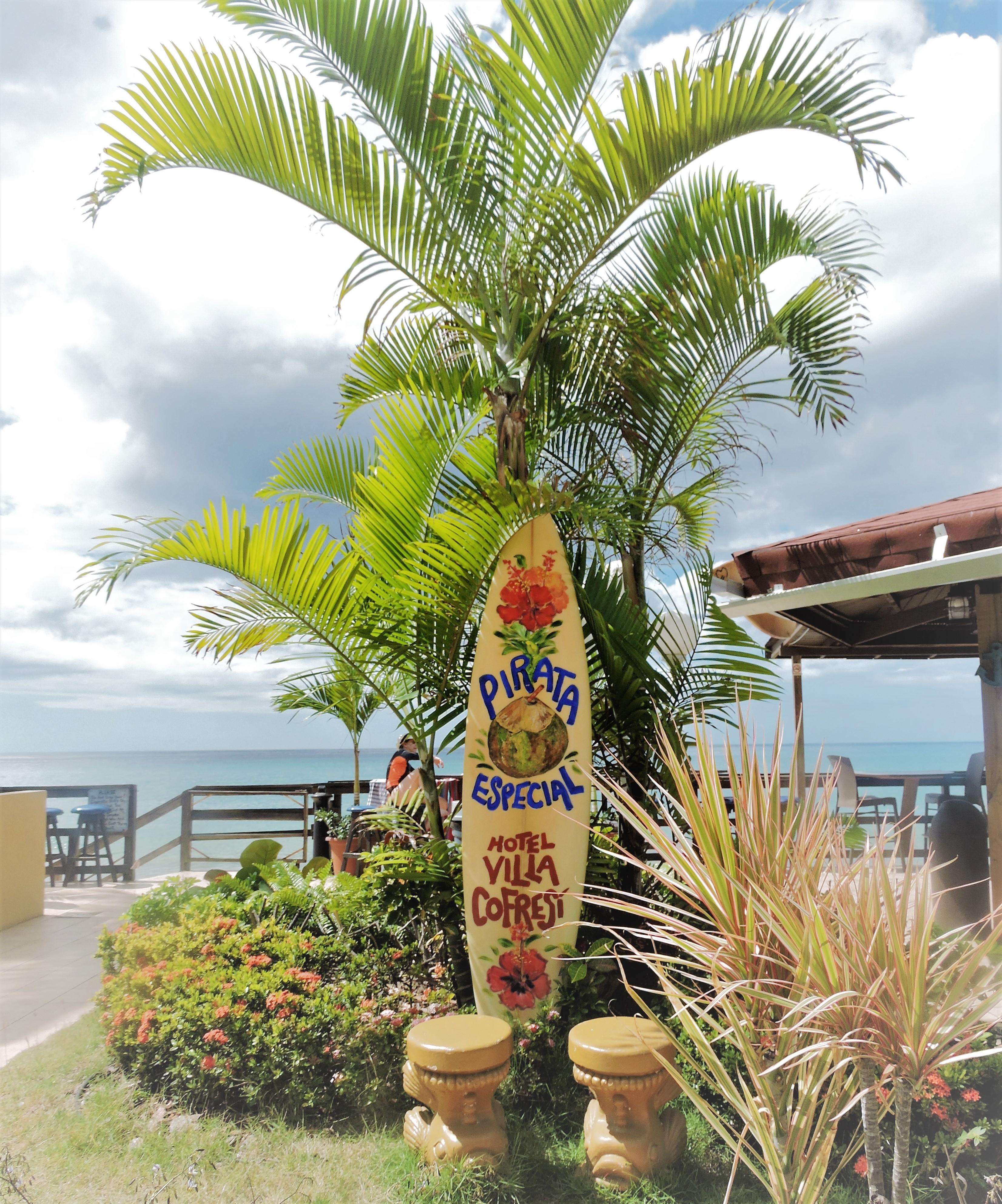 Surfboard Villa Cofresi Rincon Puerto Rico