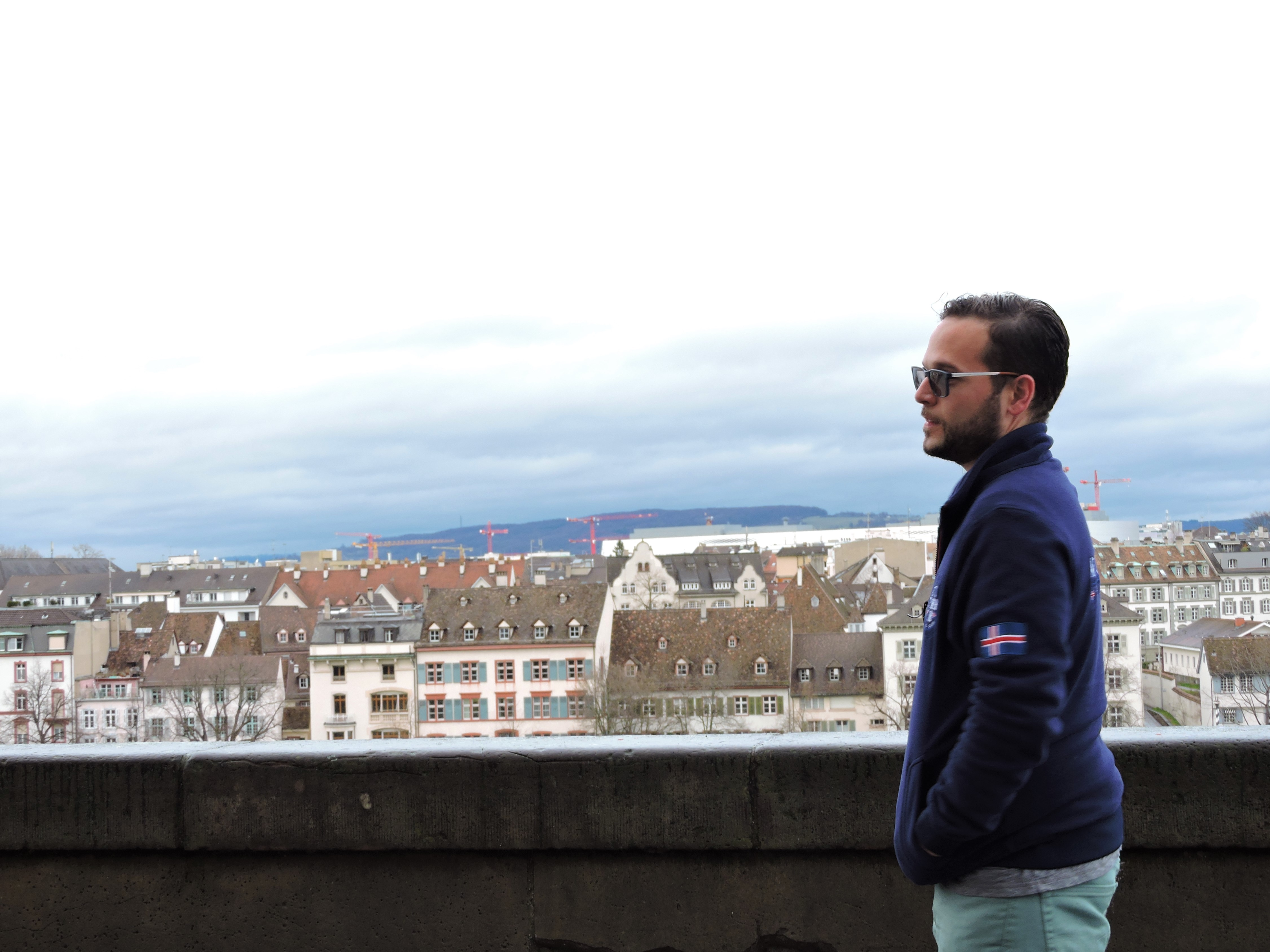 View from the Basel Munster Terrace