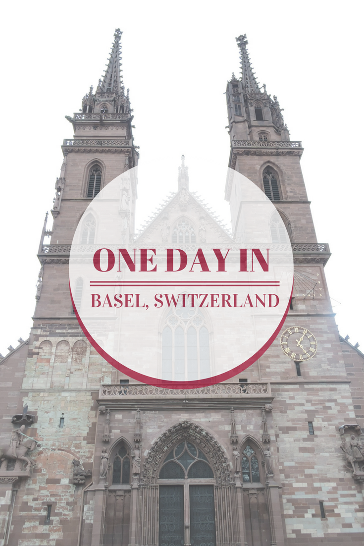 One Day in Basel, Switzerland. What to do and where to go if you are short in time in your visit to Basel.