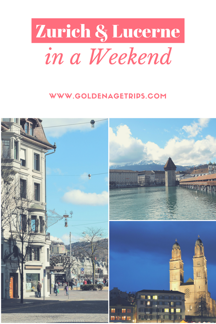 Zurich and Lucerne (Switzerland) in a Weekend. Includes information about the FIFA World Football Museum, Kapellbrucke, Lion Monument and where to find Raclette.