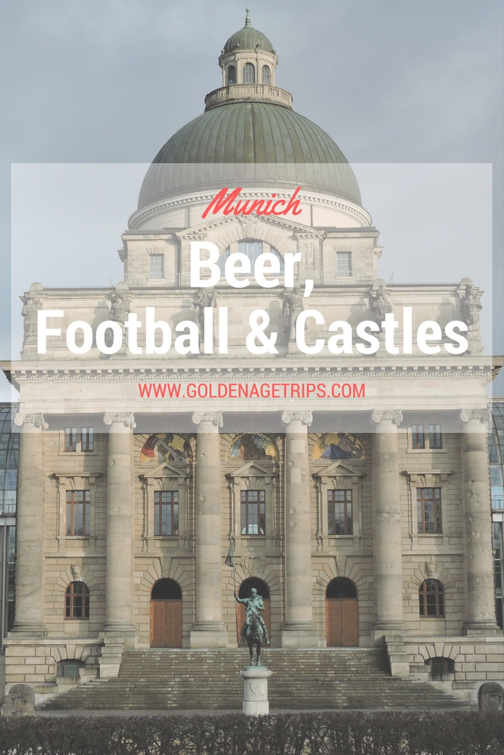 Munich(Germany): Beer, Football, and Castles. Information about the Neuschwanstein Castle, Allianz Arena (Bayern Munich FC) Tours, and the Marienplatz.