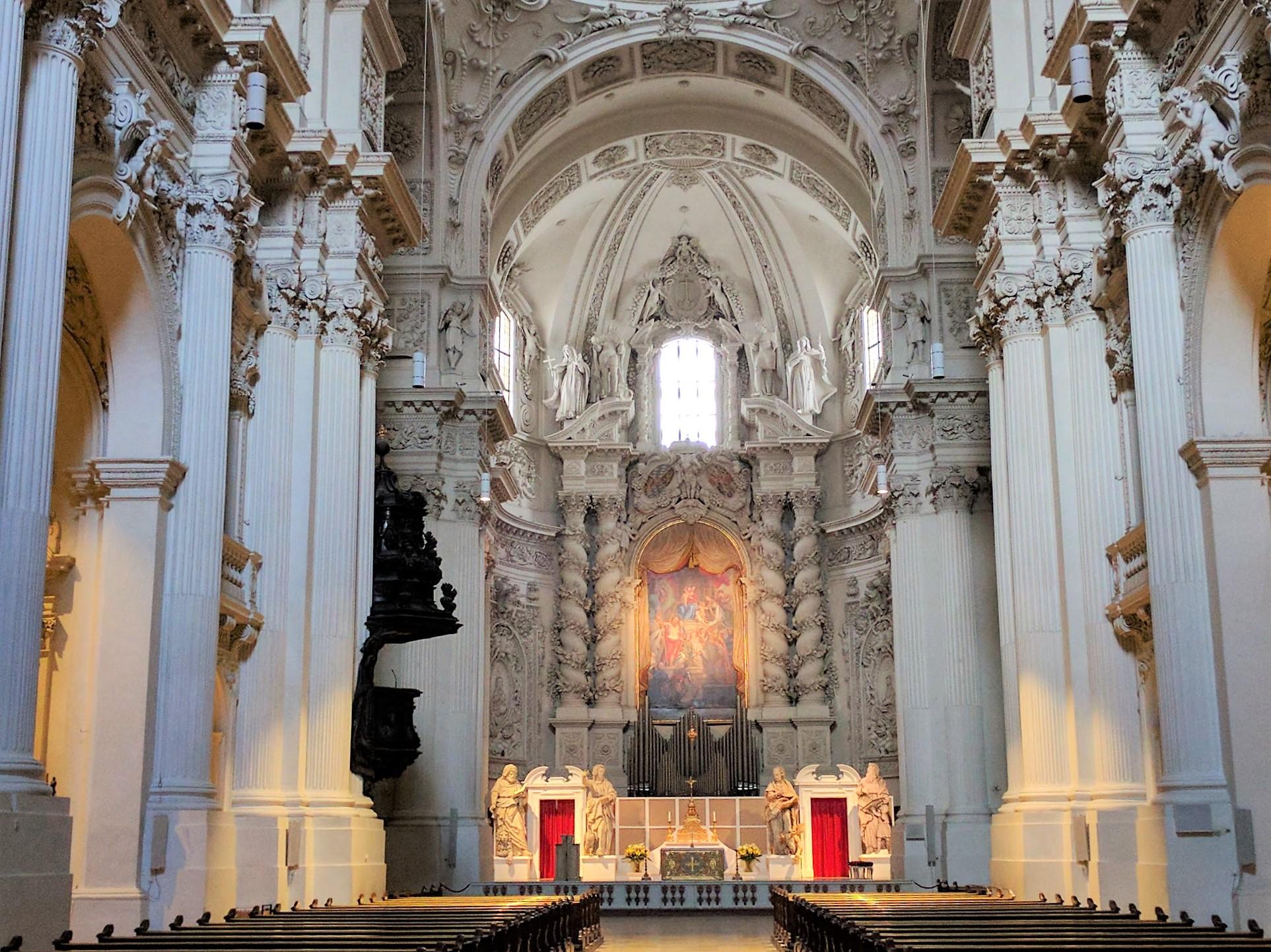 Munich theatine church